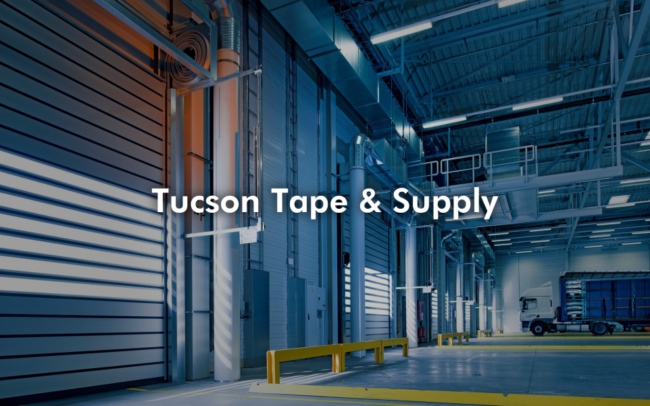Tucson Tape and Supply with Truck Loading, on Moir Technology